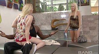 Hot Mifl Erica Lauren And Teen Enjoy Bbc