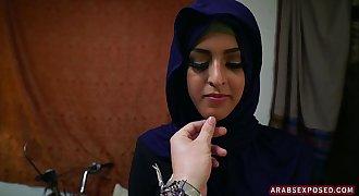 Arab lady picked up on street