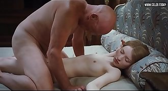 Emily Browning - Teen girl hookup with old man, Total Frontal Nudity, Pubic hair - Sleeping Beauty (2011)