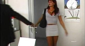 Hot secretary brutally fucked by Nacho Vidal