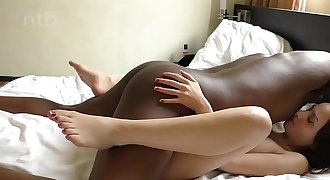 InterracialPlace.org - BBC going slowly and deep into her white pussy