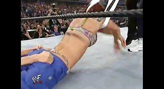 Torrie Wilson & Stacy Keibler vs. Trish Stratus & Lita - Bra & Panties Match