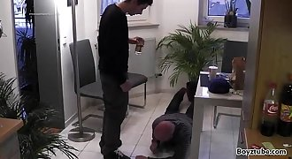 white foot slave one
