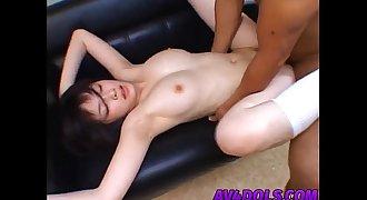 Sexy schoolgirl Kasumi Uehara shows off her talents in a hardcore fucking scene