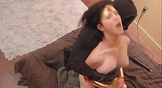 Tellula Rose Cosplaying wonder woman and getting fucked