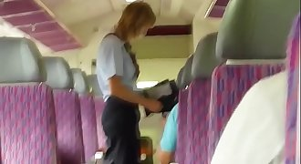 Girl getting fucked on Train in public !--- More at www.ImLivex.com