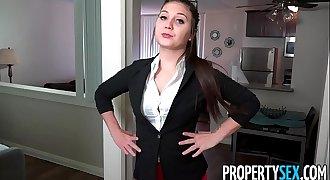 PropertySex - Rich millennial brat fucks real estate agent