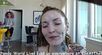 Web cam Session 2018-02-05 Bubble Butt Booty Smacks Part II