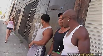Ashlynn Leigh Big black cock Assfuck Gangbang