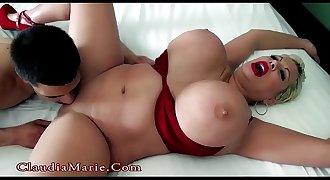 Young Latino Fucks Huge Tit Claudia Marie