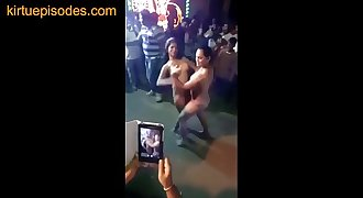 Indian Girls Dancing Nude in Public
