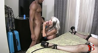 Tokyo Rose tied and fucked restrain bondage BBC Sally D'angelo Rose Royal