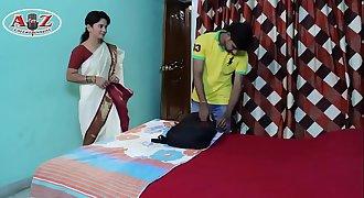 Neighbor Aunty Romance  Varsha