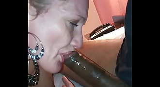 More dirty throat on my Big black cock