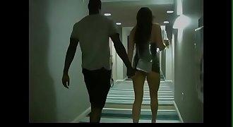 wife in interracial hotel sex