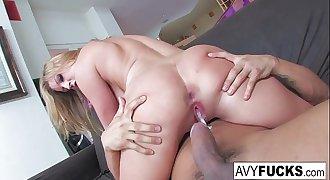 Avy Scott gets fucked by her boy toy Keni Styles