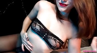 AdalynnX - Sheer Pantyhose Facesit Soaking