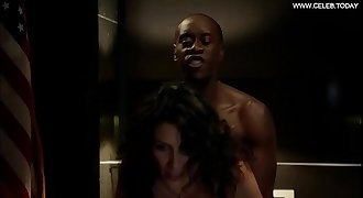 Lisa Edelstein - Doggystyle Sex Scene, Black Underwear - Building of Lies s02e05 (2013)