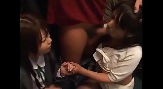 Japanese Girls on the Train #3