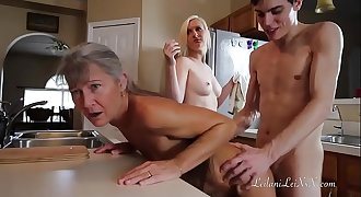 Freeze N Shut up - Threesome Roleplay