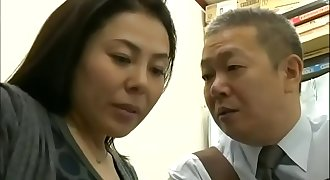The helpless Japanese MILF was blackmailed - Pt2 On HDMilfCam.com