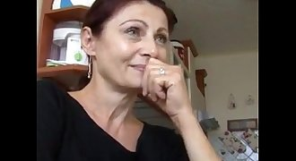Cute Mature Fucked Hard in the Kitchen